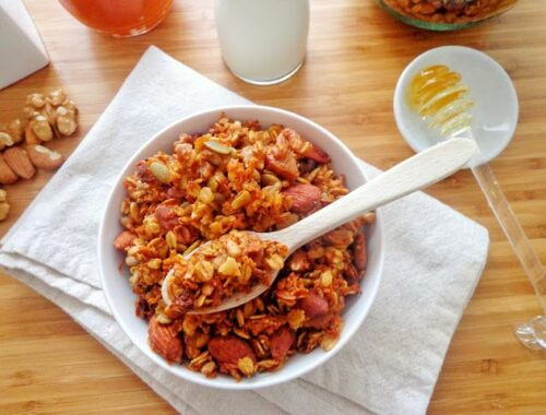 Domowa marchewkowa granola