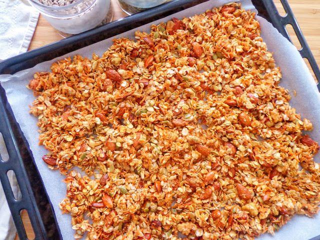 Domowa granola z marchewka