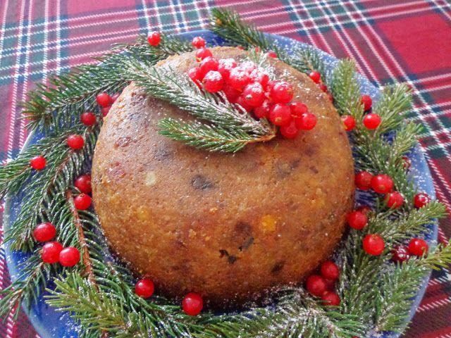 Świąteczny angielski pudding