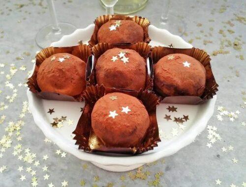 Szampańskie trufle czekoladowe