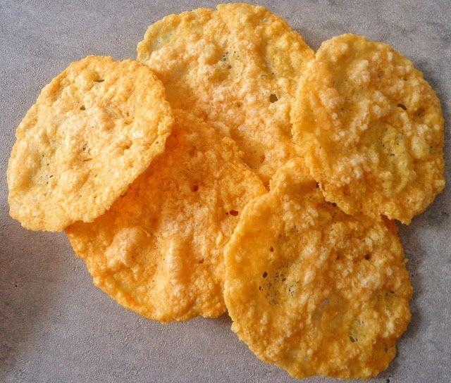Przepis na parmezanowe chipsy
