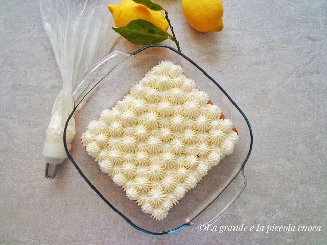 Włoskie tiramisu cytrynowe