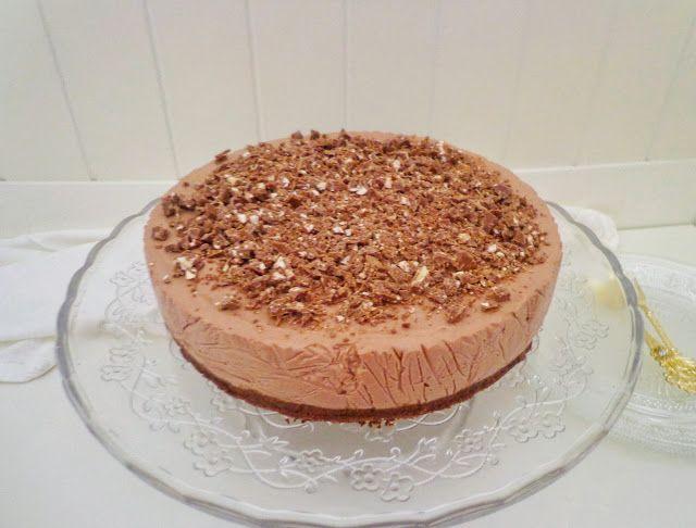 Czekoladowy cheesecake bez pieczenia