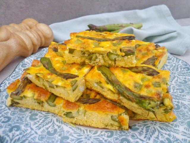 Pieczona frittata szparagowa