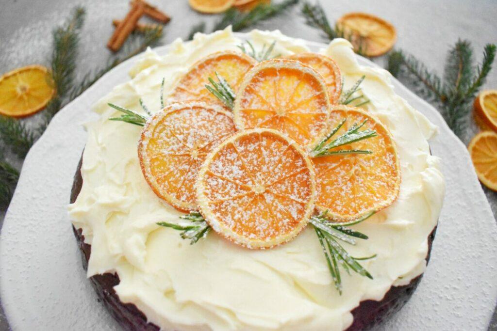 Przepis na sernik z pomarańczą