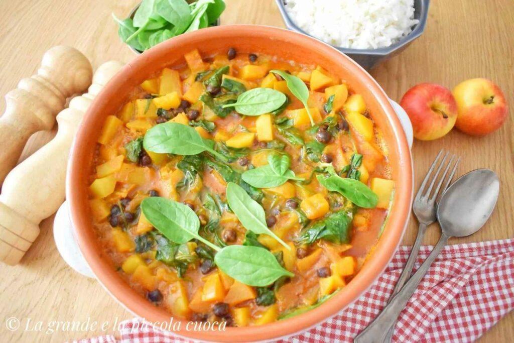 Jednogarnkowe curry z dynią