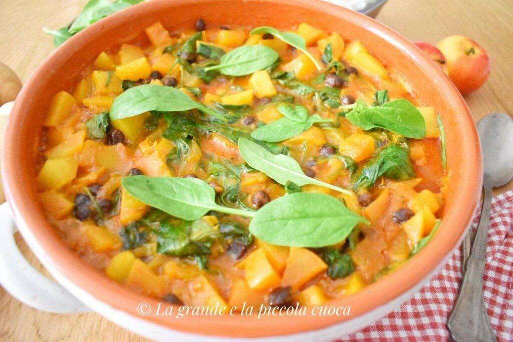Przepis na curry z dynią