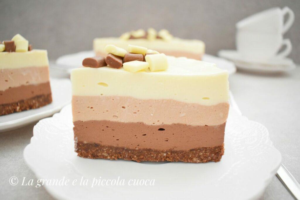 Przepis na potrójnie czekoladowy cheesecake