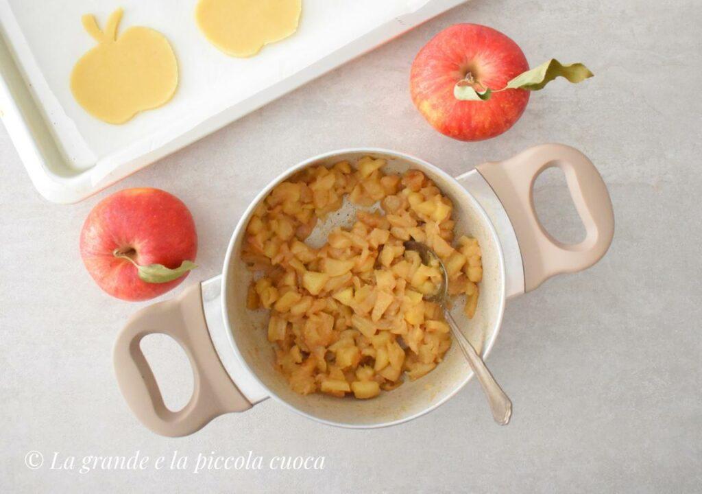 Nadzienie z jabłkami do ciastek