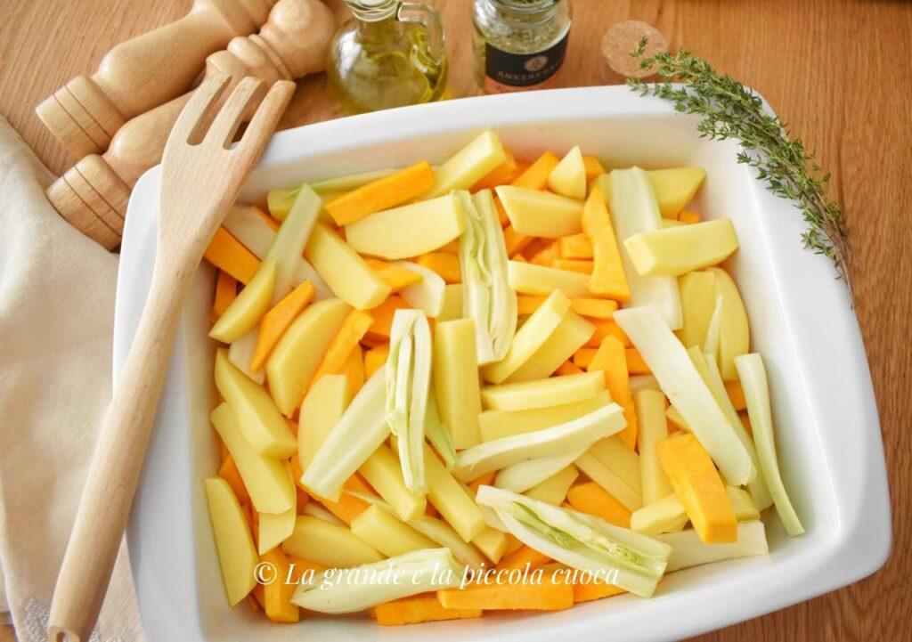 Przepis na pieczone warzywa