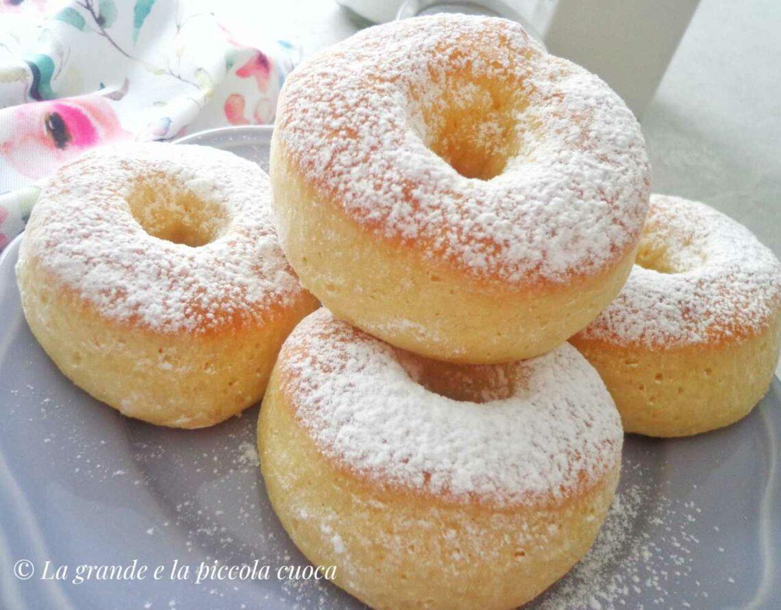 Pieczone donuts