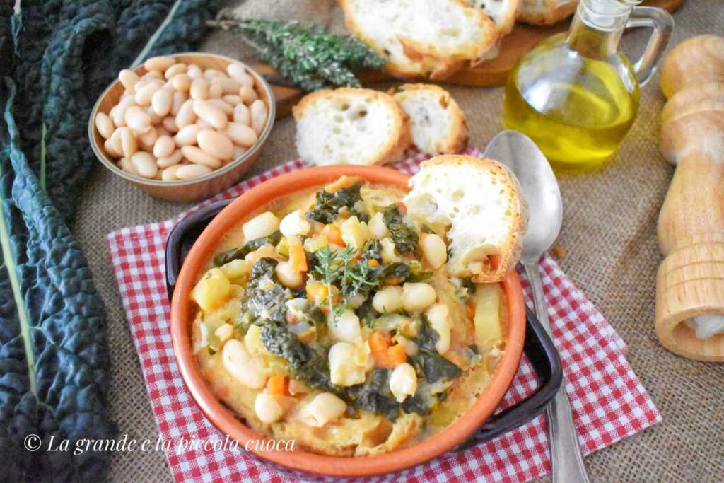 Przepis na zupe ribollite z Toskanii