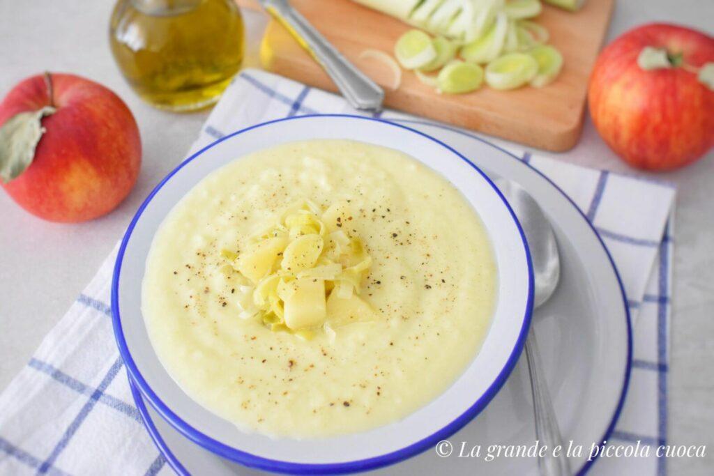 Zupa z porami i ziemniakami