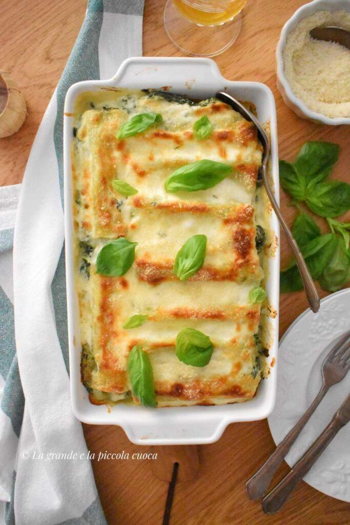 Cannelloni z ricottą i szpinakiem