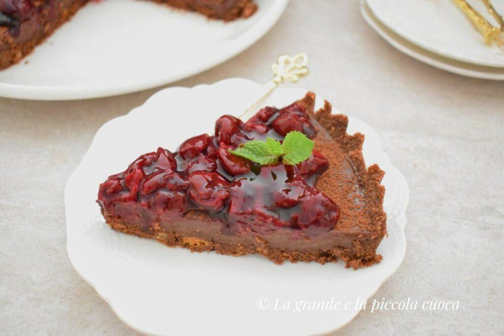 Przepis na czekoladowa tarte bez pieczenia