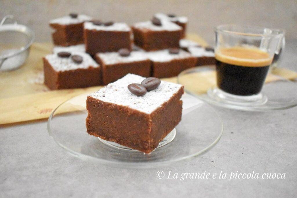 Espresso brownie z czekolada