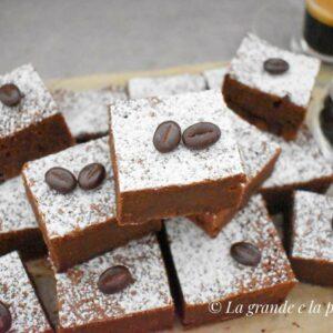 Czekoladowe brownie z espresso
