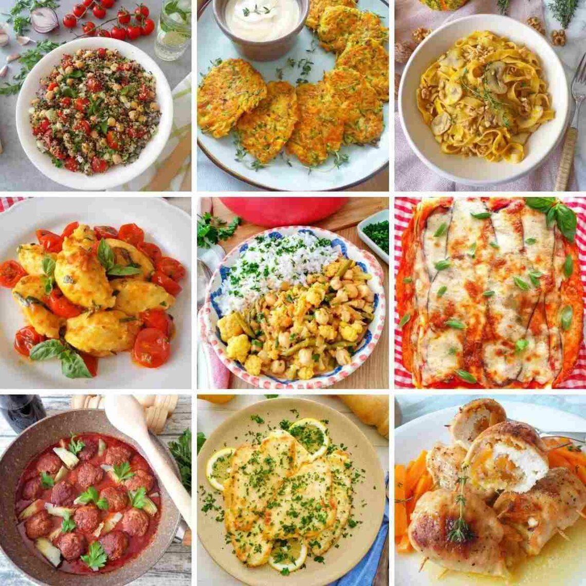 Przepisy na dania obiadowe