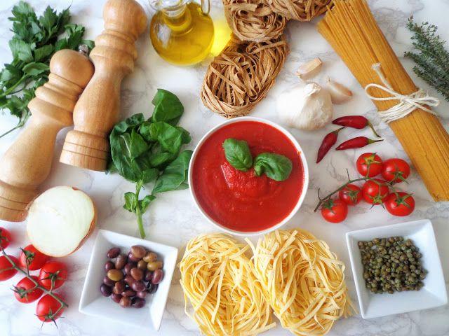 Przepisy na tradyjne sosy do makaronu