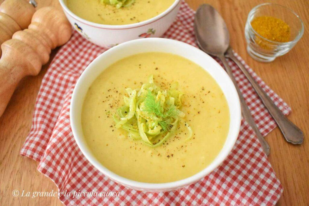 Zupa z porem, koprem i ziemniakami