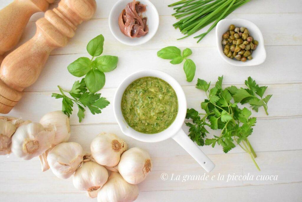 Przepis na salsa verde