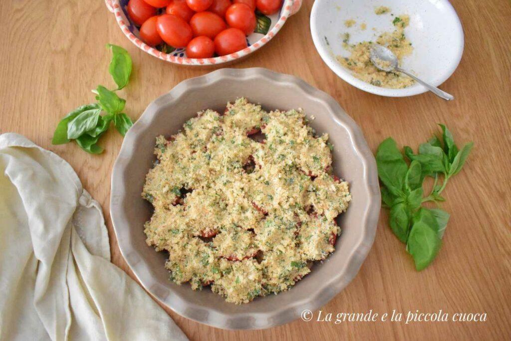 Pomidory pieczone pod panierką