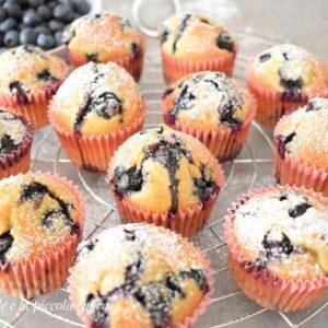 Przepis na muffiny z borówkami