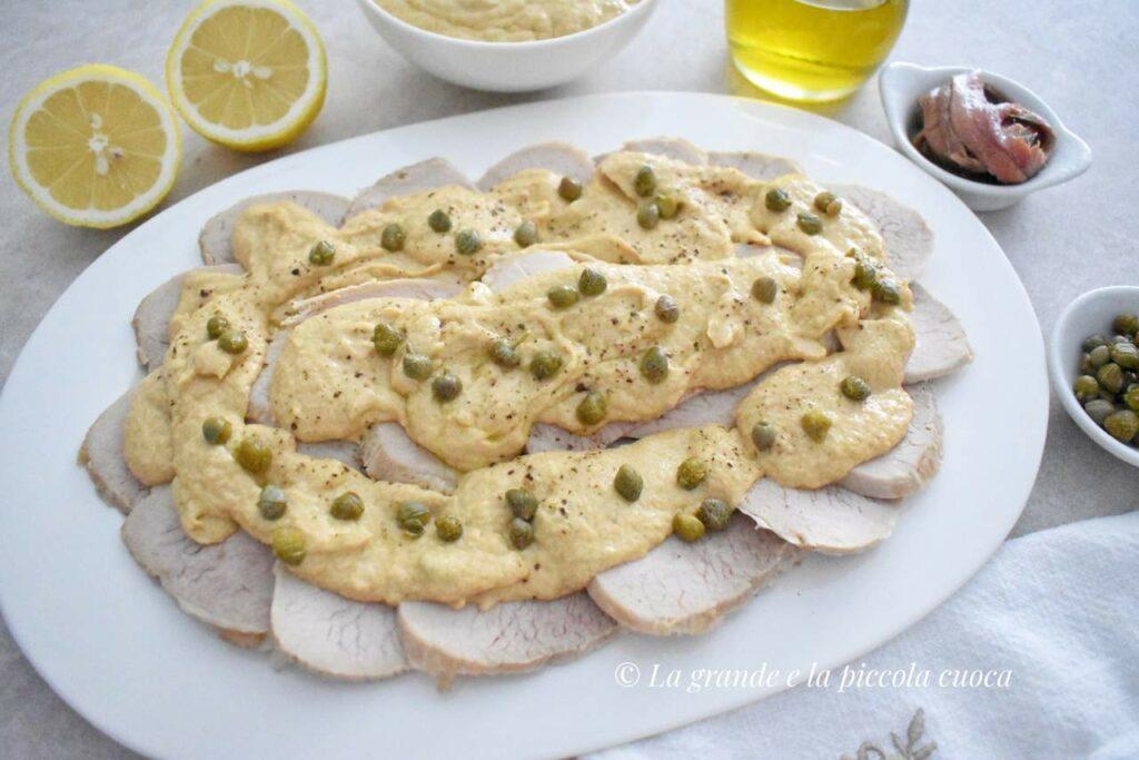 Cielęcina w sosie tuńczykowym vitello tonnato