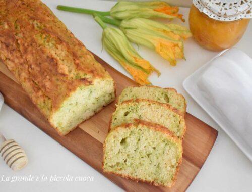 Przepis na chlebek cukiniowy