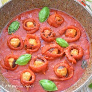 Pulpeciki z papryką w sosie pomidorowym
