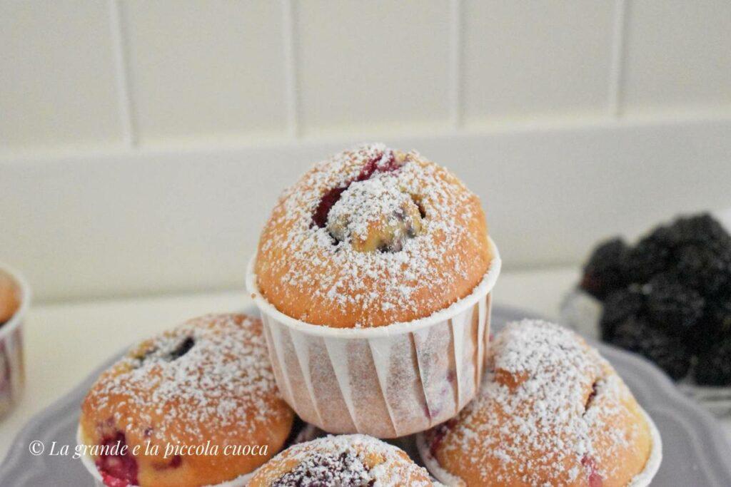 Przepis na owocowe muffiny