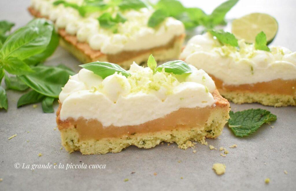 Tarta limonkowo-bazyliowa