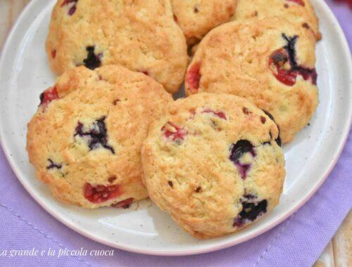 Przepis na ciasteczka z owocami leśnymi