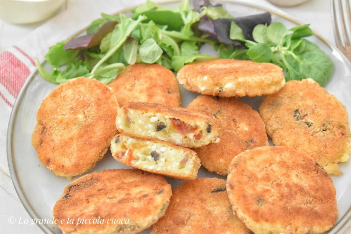 Kotleciki z serem feta