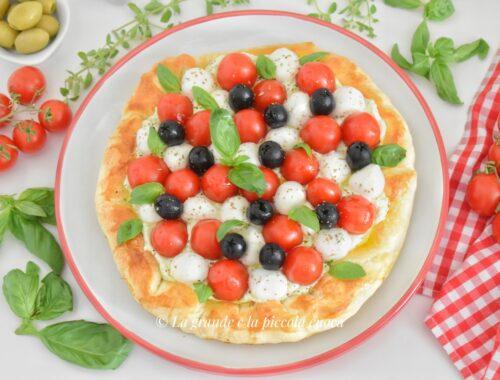 Przepis na tarte z pomidorkami