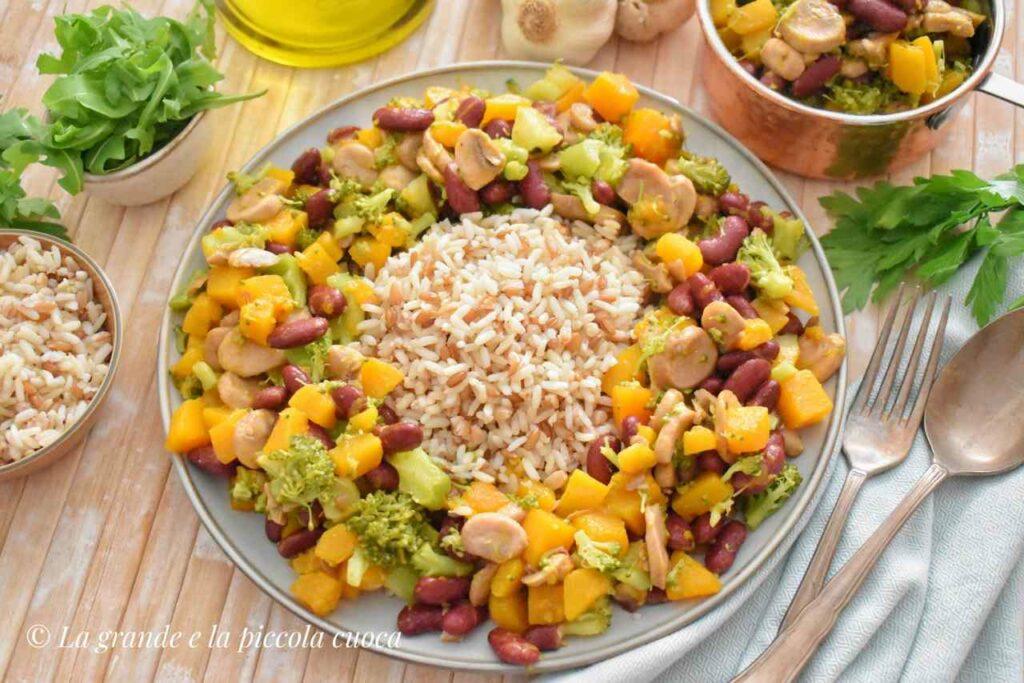 Ryż z jesiennymi warzywami