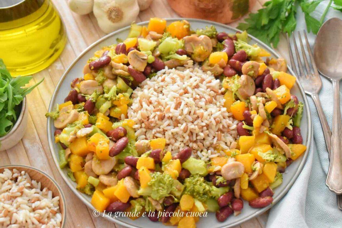 Przepis na ryż z warzywami